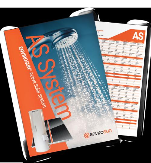Envrisoun AS solar water heater brochure