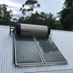 Planet home Brisbane South ENvirosun solar hot water installation