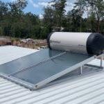Envirosun solar hot water plonk for the Brisbane South Roonsleigh builders