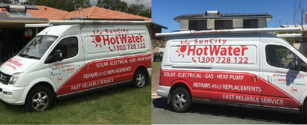 SunCity solar hot water heaters, rheem hot water systems Brisbane South
